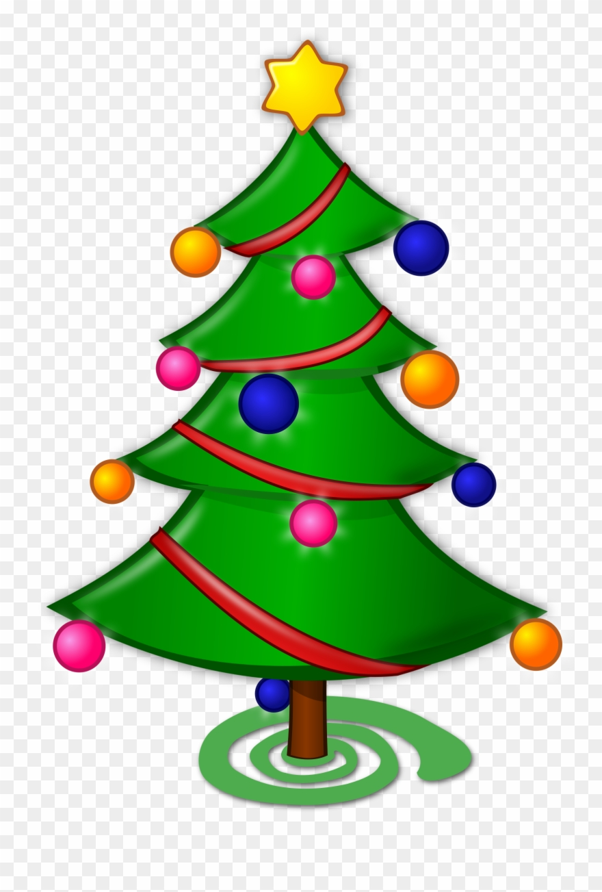 Free To Use Public Domain Christmas Tree Clip Art.