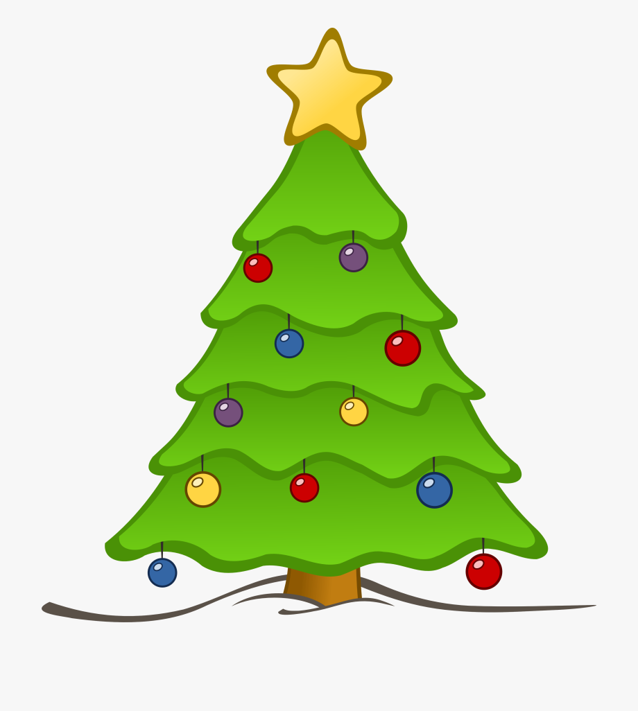 Christmas Tree Clip Art.