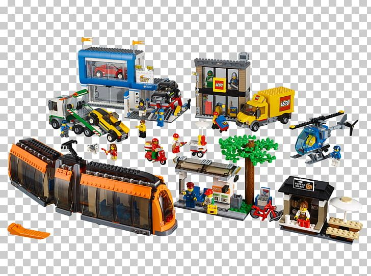 Hamleys LEGO 60097 City City Square Lego City Toy PNG.