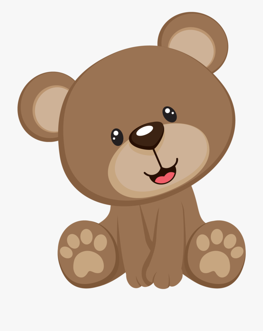 Baby Shower Bear Clipart.