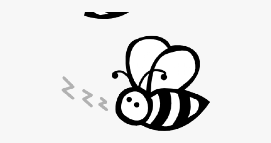 Bees Clipart Black And White , Transparent Cartoon, Free.