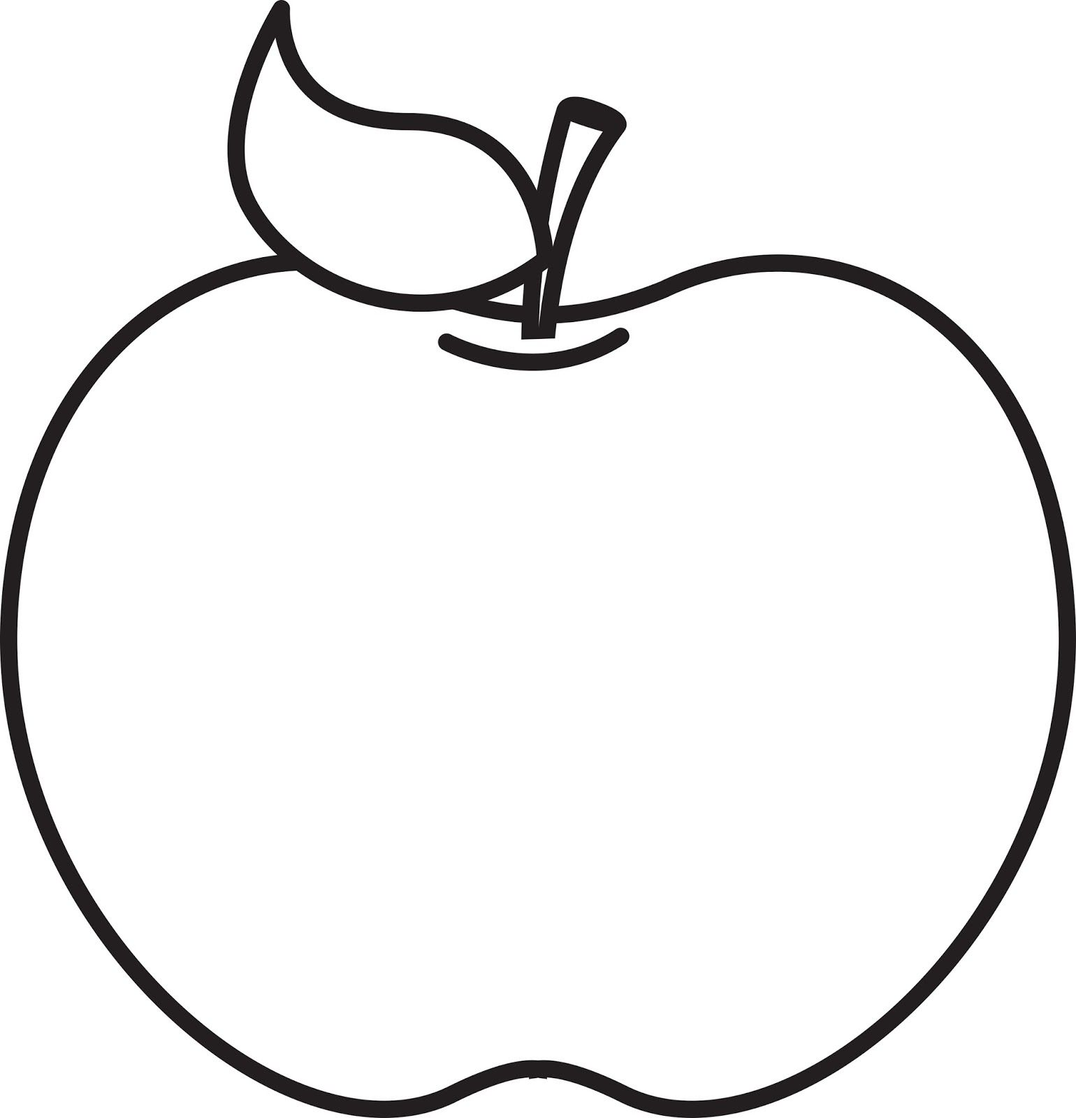Apple black and white apple clipart black and white.
