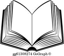 Open Book Clip Art.