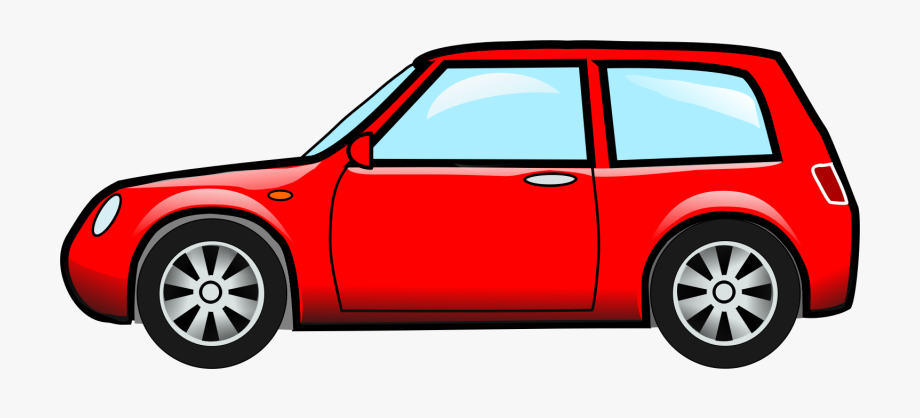 Red Car Png Clipart , Png.