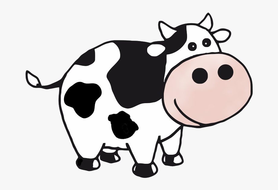 Cow Clip Art At Clker Vector Clip Art Clipartix.