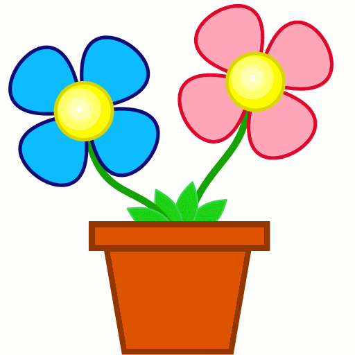 A clipart flower, A flower Transparent FREE for download on.