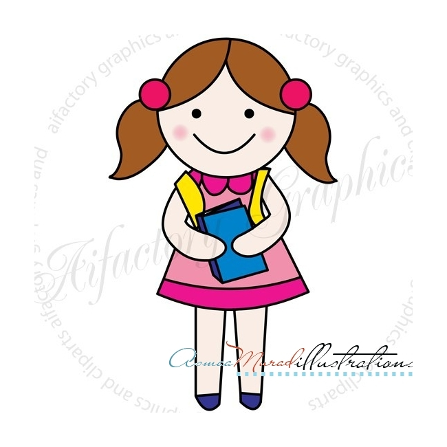 Girl Clipart Pictures.