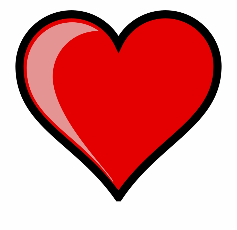 3000 Free Heart Clip Art Images And Pictures Of Hearts.