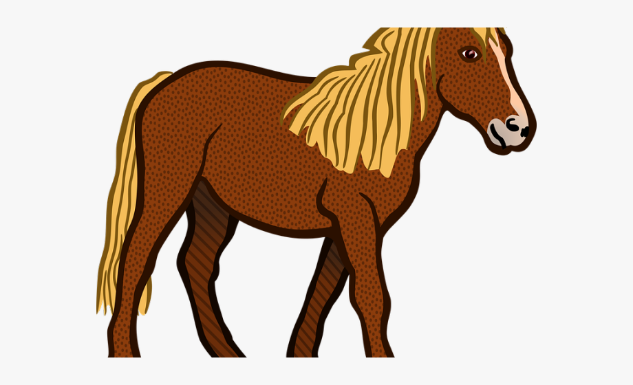 Farm Animals Clipart Horse.