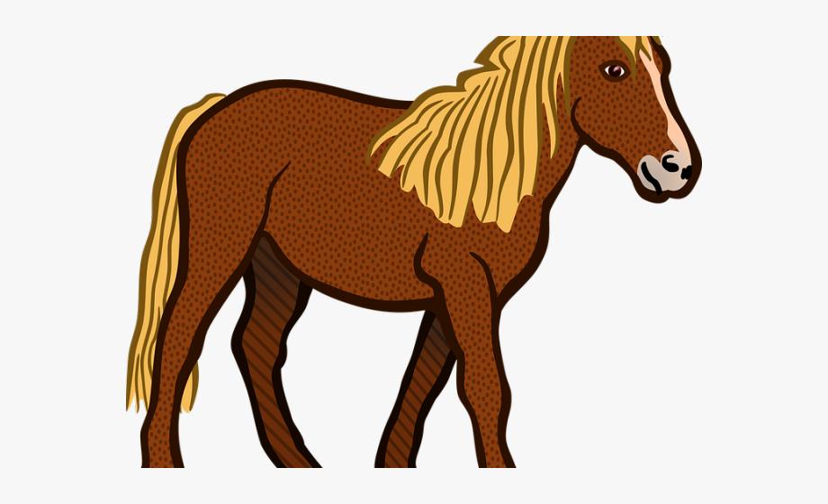 Farm Animals Clipart Horse.