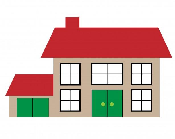 House Illustration Clipart Free Stock Photo.