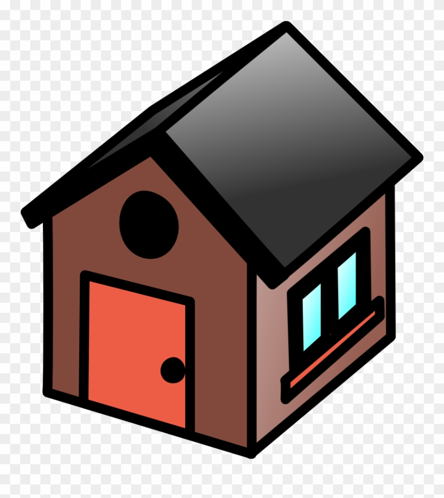 Clipart Houses Simple.