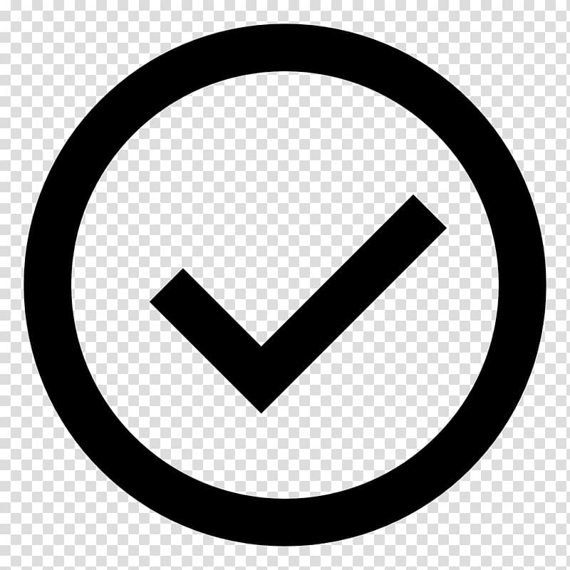 Computer Icons Check mark , icon transparent background PNG.