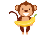 A clipart monkey, A monkey Transparent FREE for download on.