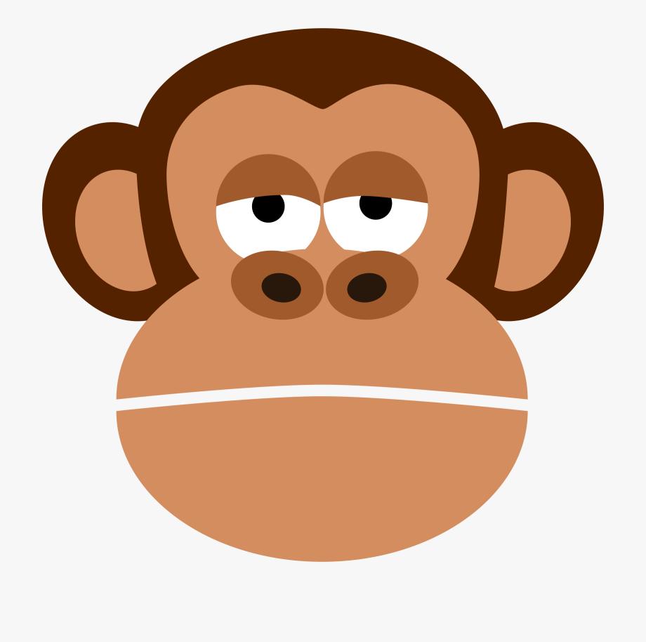 Big Clipart Monkey.