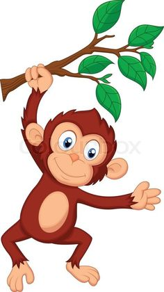 55 Best cute monkey clipart images in 2019.
