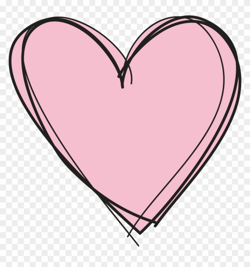 Pink Heart Clipart No Background.