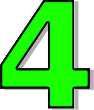 the number 4.