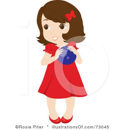 Clipart Of A Little Girl.