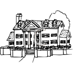 Free Mansion Cliparts, Download Free Clip Art, Free Clip Art.
