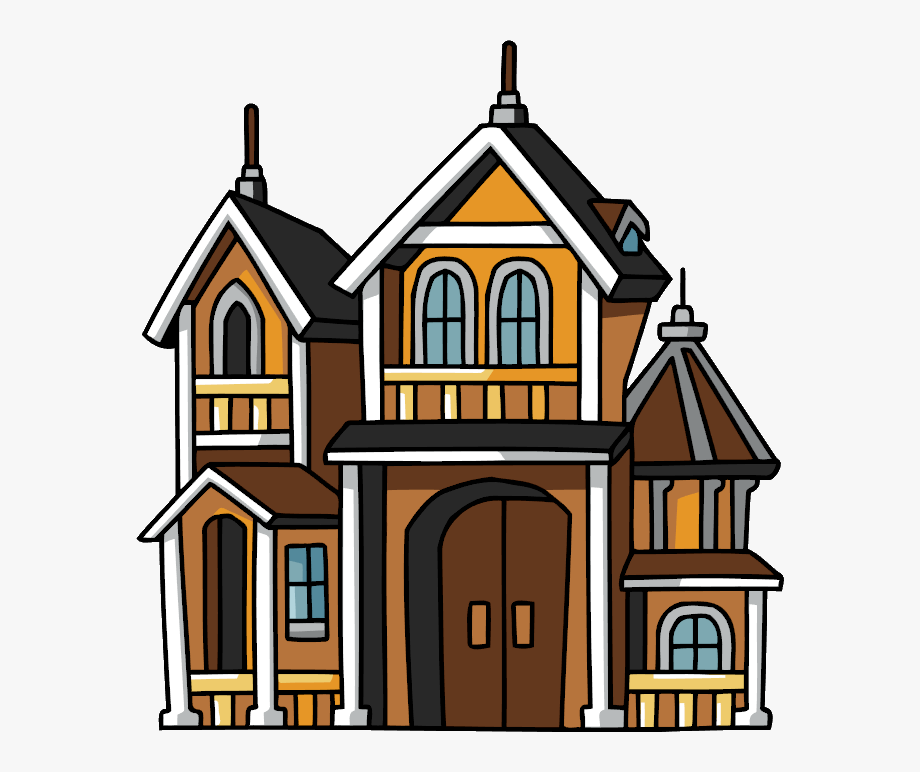 Mansion Clipart Cute Home.