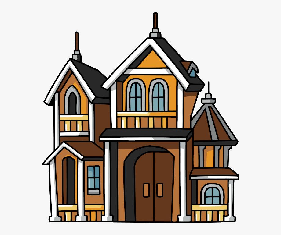 Mansion Clipart Cute Home.