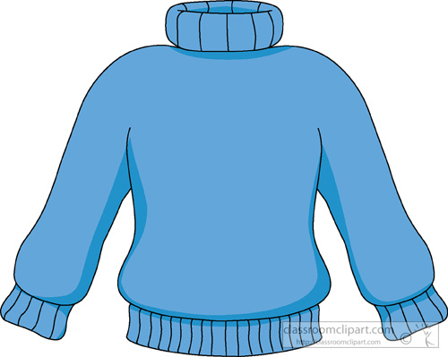 Blue Sweater Clipart » Clipart Station.