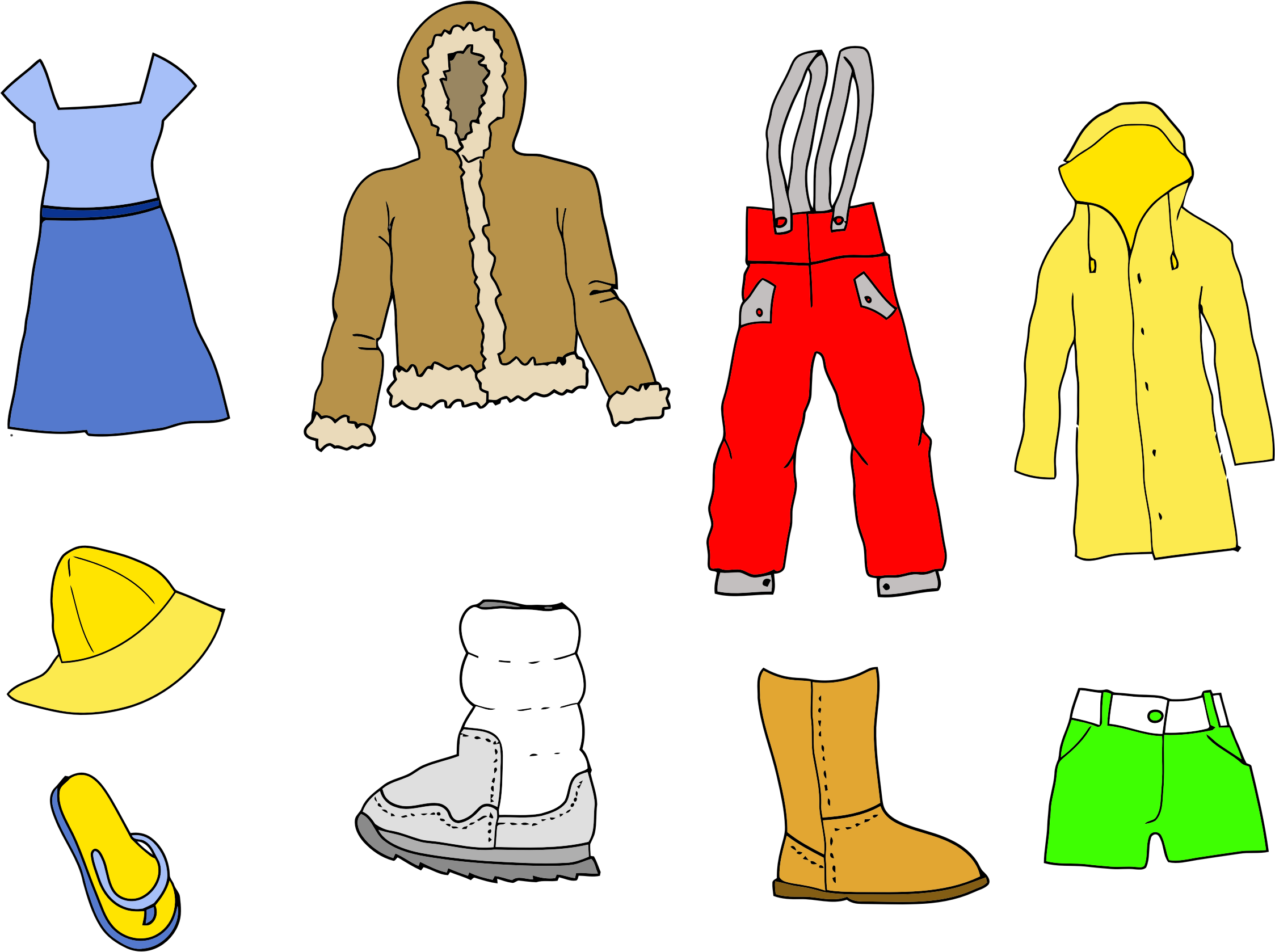 Clothing Clipart Transparent.