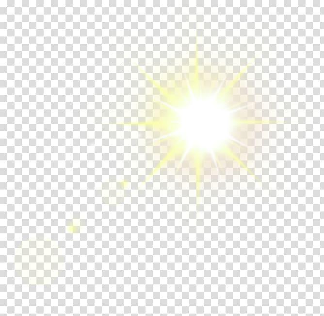 Sunlight illustration, Light Glare Lens flare, light.