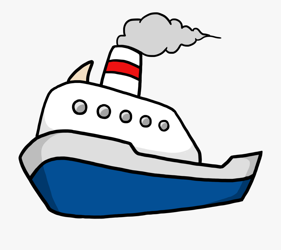 Water Clipart Boat.