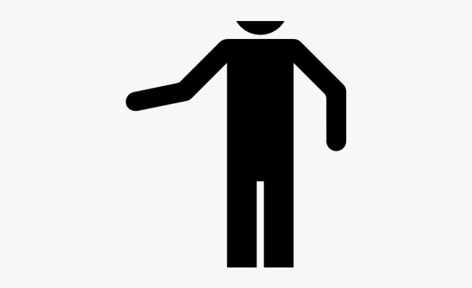 People Silhouette Clipart Person Icon.