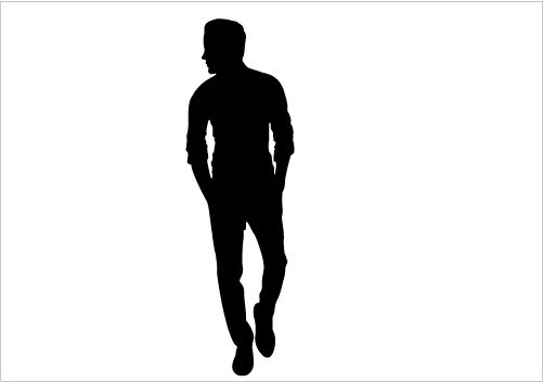 Man Walk Silhouette Graphics Silhouette Graphics.