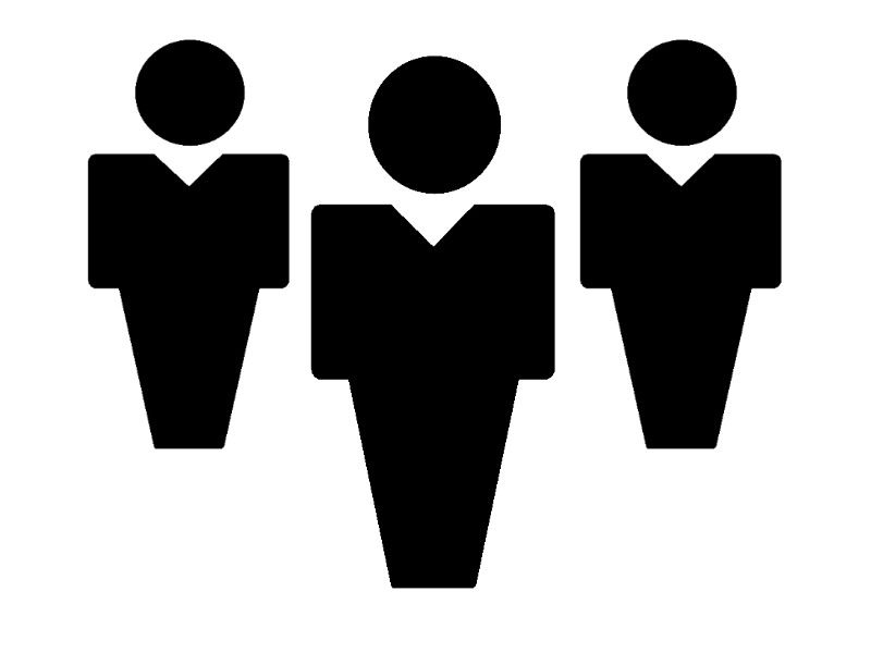 Person silhouette clip art.