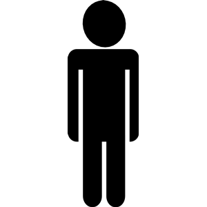 A clipart person.
