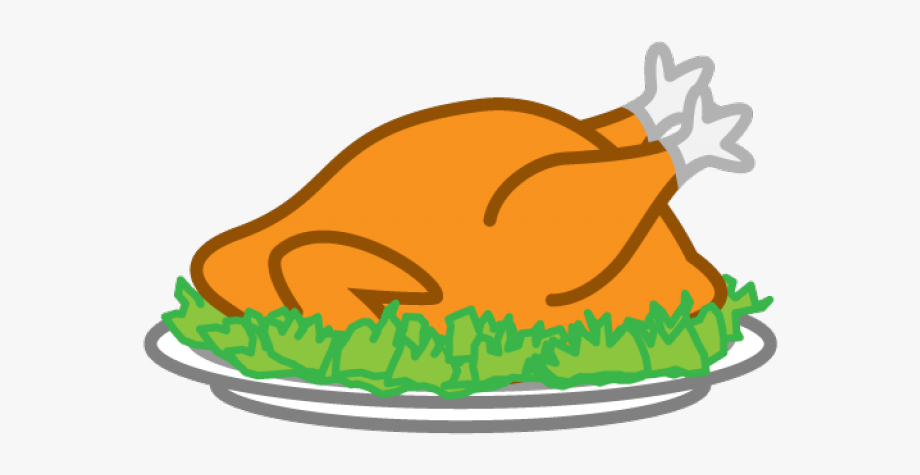 Thanksgiving Cooked Turkey Clipart , Transparent Cartoon.