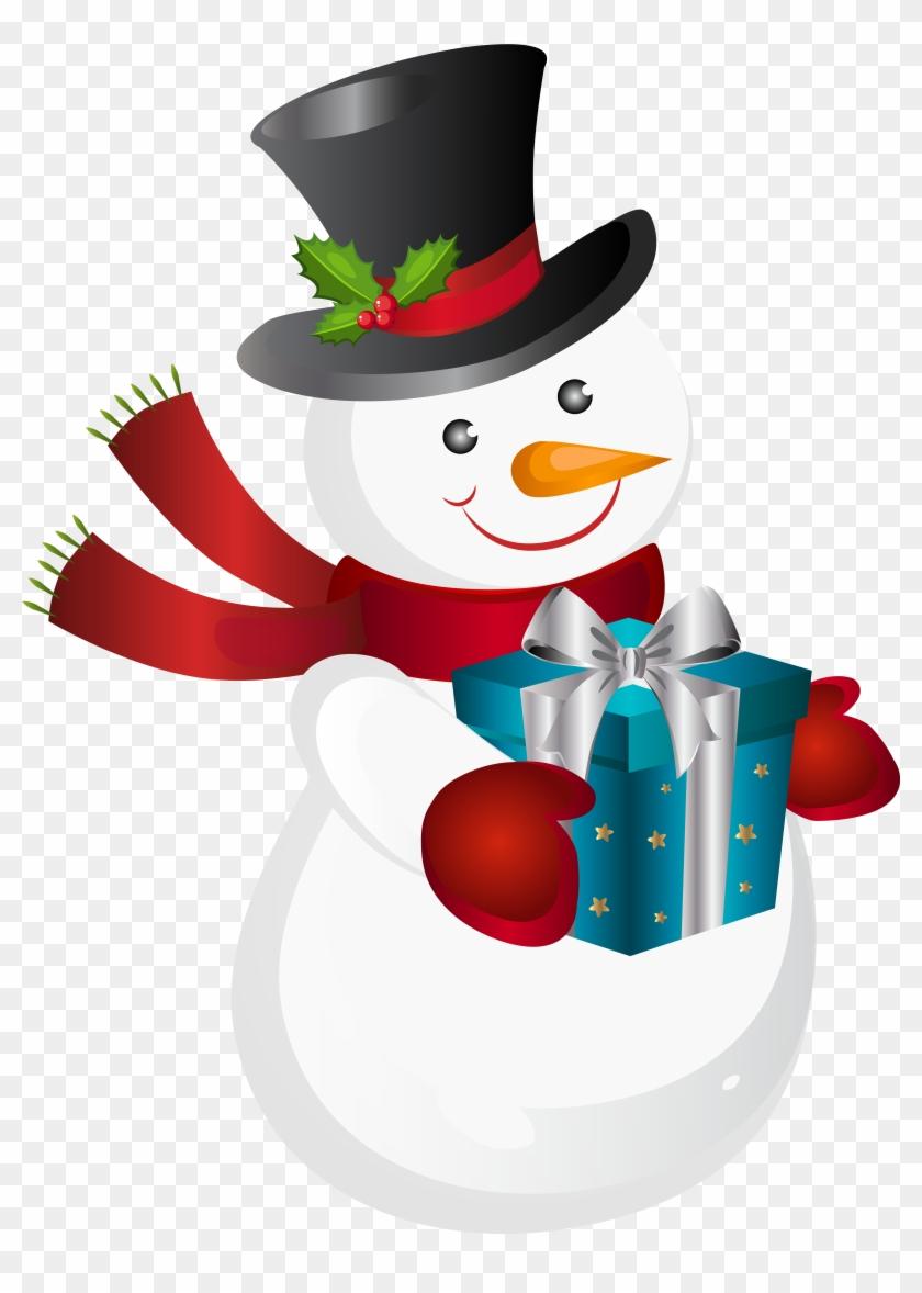 Snowman Clipart Love.