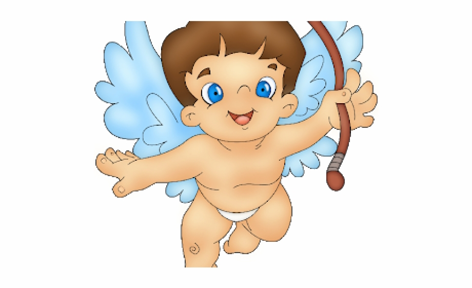 Cupid Clipart Baby Girl.