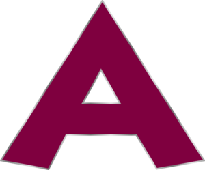 Letter A Clipart Png.