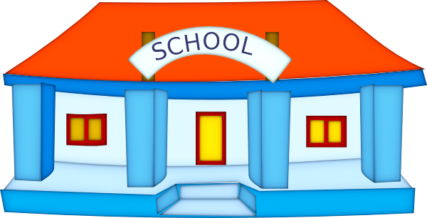 Picture Of A School Clipart.