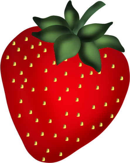 svg Strawberry clip art food. Strawberries clipart.