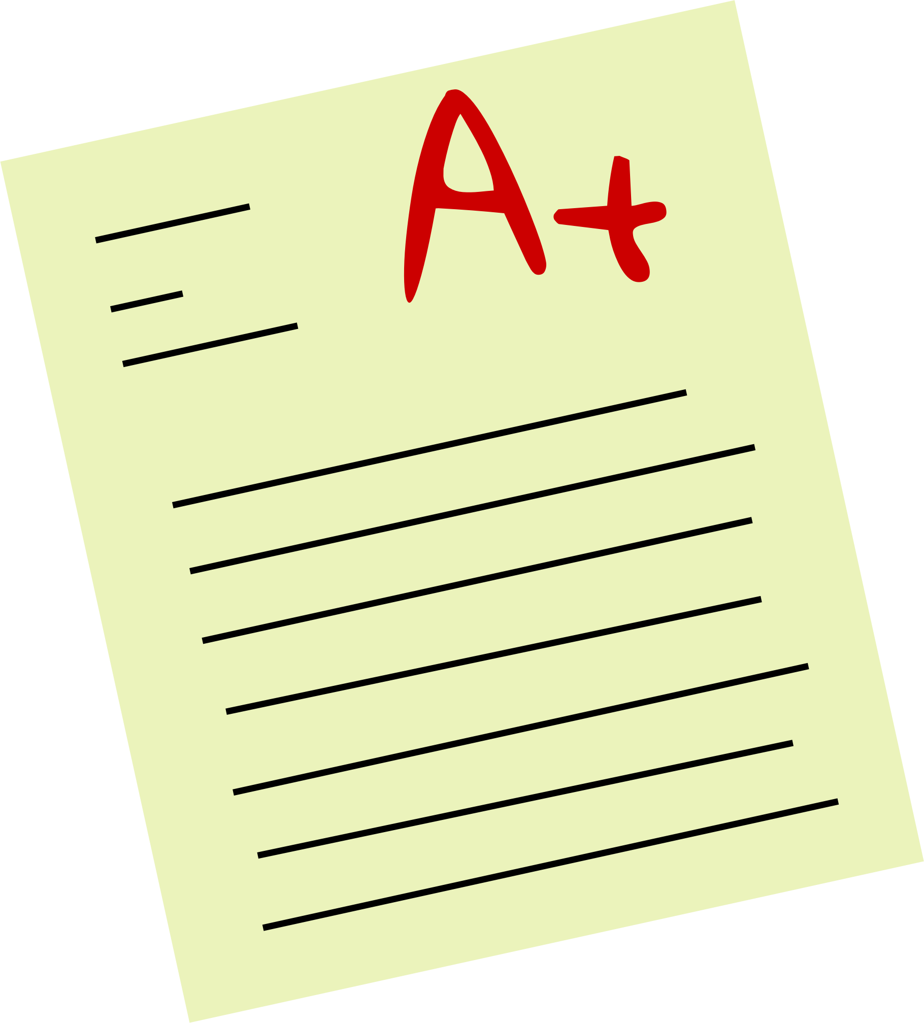 Essay clipart test paper, Essay test paper Transparent FREE.