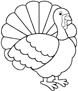 Free Download 999+ Turkey Clipart Black And White.