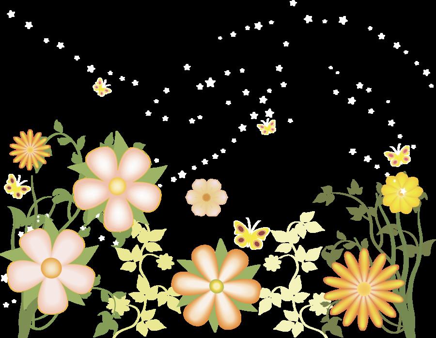 Flower Clipart Transparent Background.