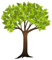 Tree Clipart Free Vector Art.