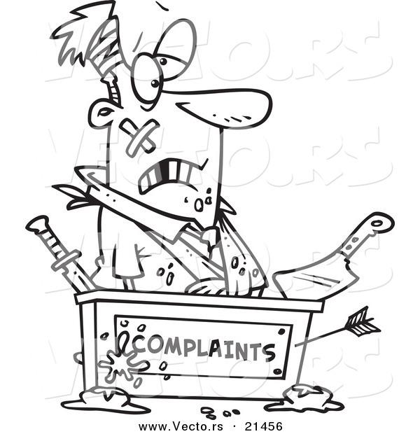 Complaint Clip Art.