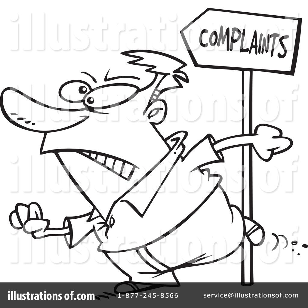 Complaint Clipart #1047189.