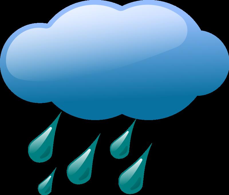 Rain Cloud Storm Clip art.