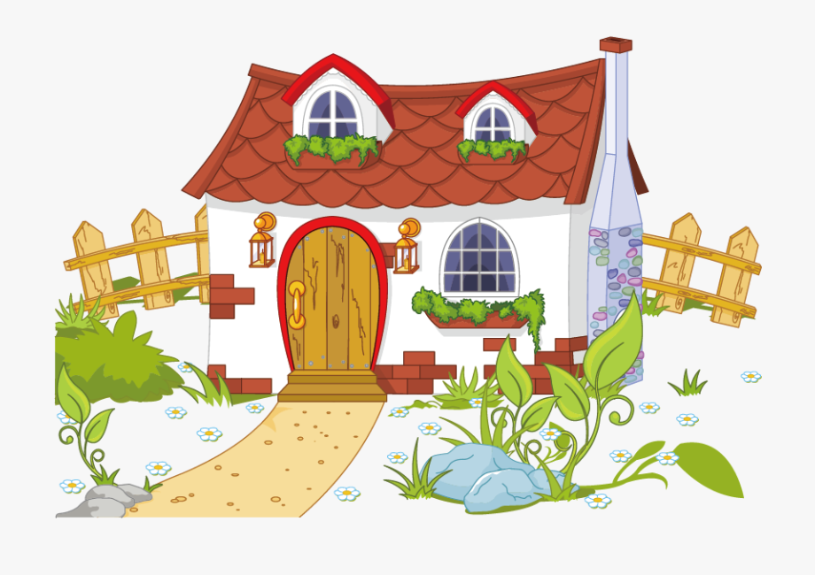 Cottage clipart many house, Cottage many house Transparent.