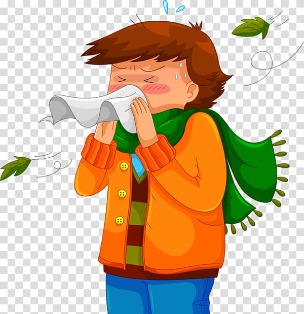 Sneeze Common cold Rhinorrhea Cough, nose transparent.