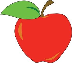 Apple illustration clip art.